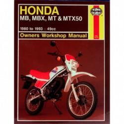 Haynes Honda MB50, MBX50, MT50, MTX50 (1980-93)