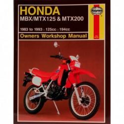 Haynes Honda MBX125, MTX125 et MTX200 (1983-93)