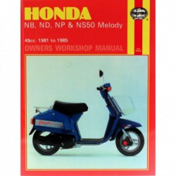 Haynes Honda NB, ND, NP, NS50 Melody (1981-85)