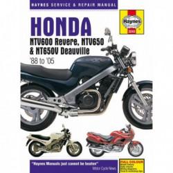 Haynes Honda NTV600 Revere, NTV650, NT650V Deauville, NT400, NT650 Bros (1988-05)