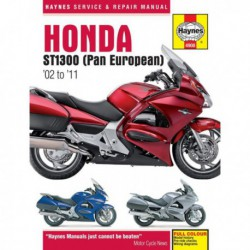 Haynes Honda ST1300 Pan European (2002-11)