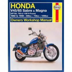 Haynes Honda V45, V65 Sabre et Magna (1982-88)