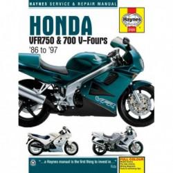 Haynes Honda VFR750, VFR700 V-Fours (1986-97)
