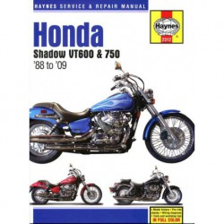 Haynes Honda Shadow VT600 et VT750 (1988-14)