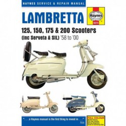 Haynes Lambretta Scooters Li, TV, SX, DL, Serveta, SIL (1958-2000)