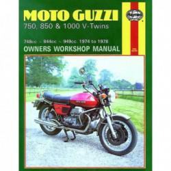 Haynes Moto Guzzi 750, 850, 1000 V-Twins (1974-78)