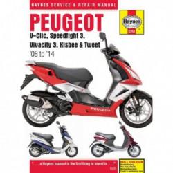 Haynes Peugeot V-Clic, Speedfight 3, Vivacity 3, Kisbee, Tweet (2008-14)
