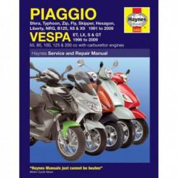Haynes Piaggio et Vespa Scooters (1991-09)