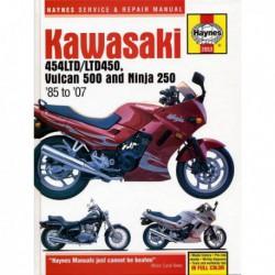 Haynes Kawasaki 454LTD, LTD450, Vulcan 500, Ninja 250 (1985-07)