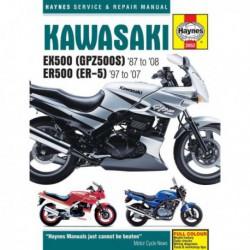 Haynes Kawasaki EX500, GPZ500S et ER500, ER-5 (1987-08)