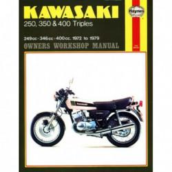Haynes Kawasaki KH250, KH400, S1 250, S2 350, S3 400 Triples (1972-79)