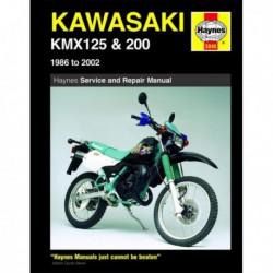 Haynes Kawasaki KMX125, KMX200 (1986-02)