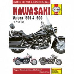 Haynes Kawasaki Vulcan VN1500, VN1600 (1987-08)