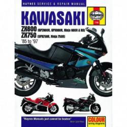 Haynes Kawasaki ZX600 (GPZ600R, GPX600R, Ninja 600R, RX), ZX750 (GPX750R, Ninja 750R) (1985-97)