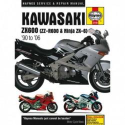 Haynes Kawasaki ZX600, ZZ-R600 et Ninja ZX6 (1990-06)