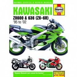 Haynes Kawasaki ZX-6R Ninja Fours (1995-02)