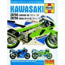 Haynes Kawasaki ZX750 (Ninja ZX-7, ZXR750) Fours (1989-96)