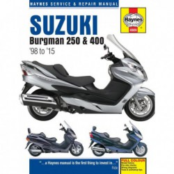 Haynes Suzuki Burgman AN250, AN400 (1998-15)