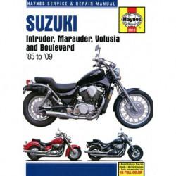 Haynes Suzuki Intruder, Marauder, Volusia, Boulevard (1985-09)