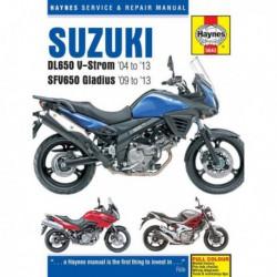 Haynes Suzuki DL650 V-Strom et SFV650 Gladius (2004-13)