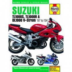 Haynes Suzuki TL1000S, TL1000R, DL1000 V-Strom (1997-04)