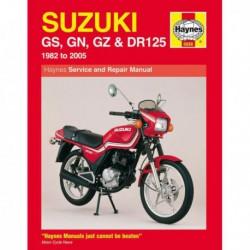 Haynes Suzuki GS125, GN125, GZ125, DR125 Singles (1982-05)