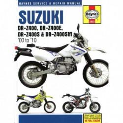 Haynes Suzuki DR-Z400, E, S, SM (2000-10)