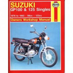 Haynes Suzuki GP100, GP125 Singles (1978-93)