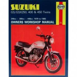Haynes Suzuki GS250, GS450, GSX250, GSX400 Twins (1979-85)
