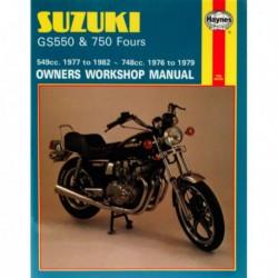 Haynes Suzuki GS550 et GS750 Fours (1976-82)