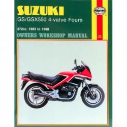 Haynes Suzuki GS550, GSX550 Fours (1983-88)