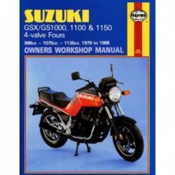 Haynes Suzuki GS1000, GSX1000, GS1100, GSX1100, GS1150, Katana, Fours (1979-88)