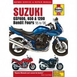 Haynes Suzuki GSF600, GSF650, GSF1200 Bandit Fours (1995-06)