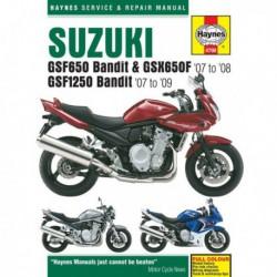 Haynes Suzuki GSF650, GSF1250 Bandit, GSX650, GSX1250 (2007-14)