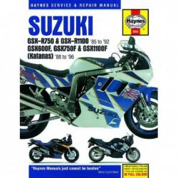 Haynes Suzuki GSX-R750, GSX-R1100, GSX600F, GSX1100F, GSX750F, Katana (1989-96)