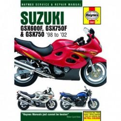 Haynes Suzuki GSX600F, GSX750F, GSX750 (1998-03)