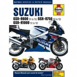 Haynes Suzuki GSX-R600, GSX-R750, GSX-R1000 (2000-03)
