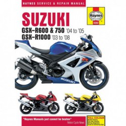 Haynes Suzuki GSX-R600, GSX-R750, GSX-R1000 (2003-08)