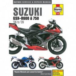 Haynes Suzuki GSX-R600, GSX-R750 (2006-09)