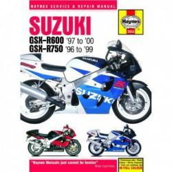 Haynes Suzuki GSX-R600, GSX-R750 (1996-00)