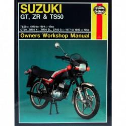 Haynes Suzuki GT50, ZR50, TS50 (1977-90)