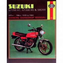 Haynes Suzuki GT250X7, GT200X5, SB200 Twins (1978-83)