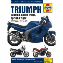 Haynes Triumph Daytona, Speed Triple, Sprint, Tiger (1997-05) 885, 955cc