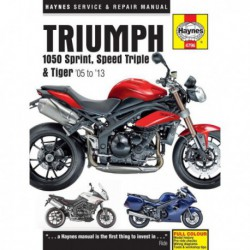 Haynes Triumph 1050 Sprint, Speed Triple, Tiger (2005-13)