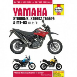 Haynes Yamaha XT660 et MT-03 (2004-11)