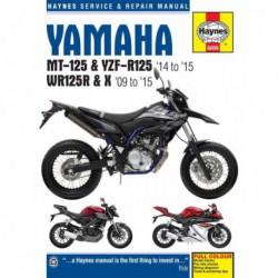 Haynes Yamaha MT-125, YZF-R125 (2014-15) et WR125R, WR125X (2009-15)