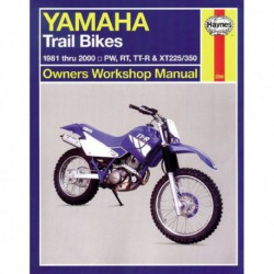 Haynes Yamaha PW, RT, TT-R, XT Trail Bikes (1981-03)