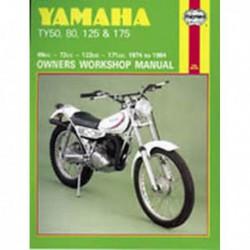 Haynes Yamaha TY50, TY80, TY125, TY175 (1974-84)