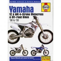 Haynes Yamaha YZ et WR Motocross (1998-08)