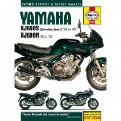Haynes Yamaha XJ600S Diversion, Seca II et XJ600N Fours (1992-03)